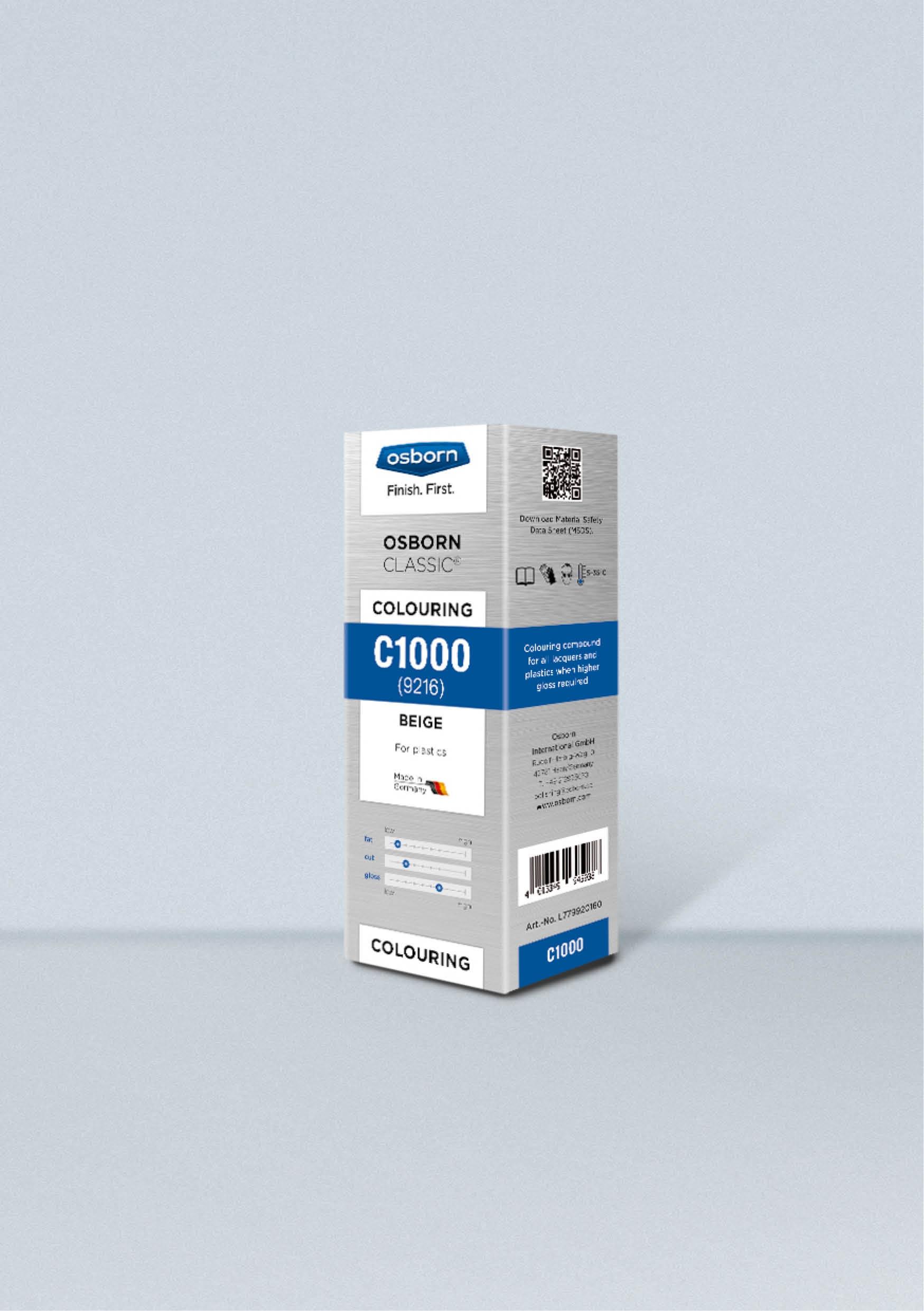 Pasta stała C1000 OSBORN beżowa 1kg nr.L779920160