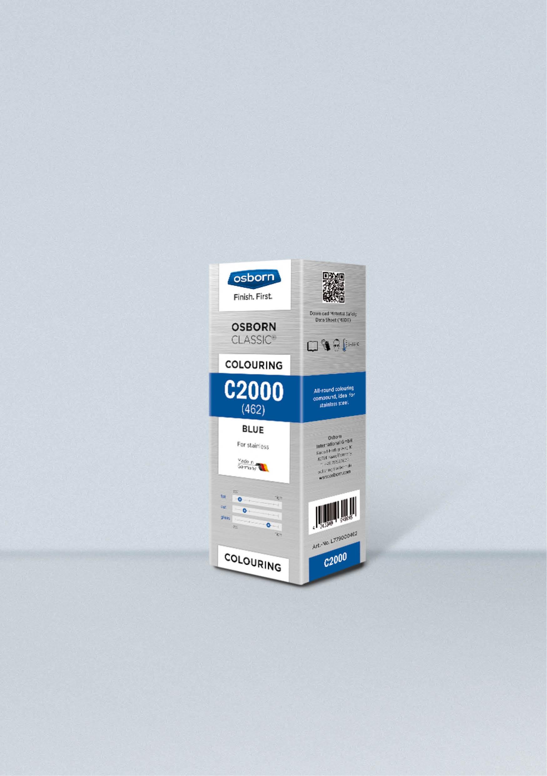 Pasta stała C2000 OSBORN niebieska 1kg nr.L779920160