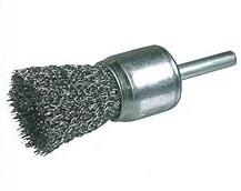 Szczotka trzpieniowa pędzelkowa OSBORN Ø 17 drut stalowy falisty 0,30