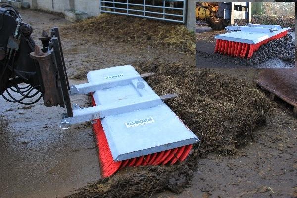 Szczotka do dużych powierzchni BROOMATE - na indywidualne zamówienie