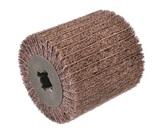 Ściernica walcowa z włókniny medium + płótno ścierne p-80 100x100x19,6  (kombi mix) OSBORN