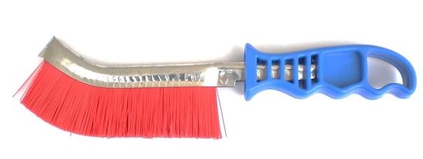 Szczotka ręczna plastikowa OSBORN 1 rzędowa nylonowa 0,30 - niebieska