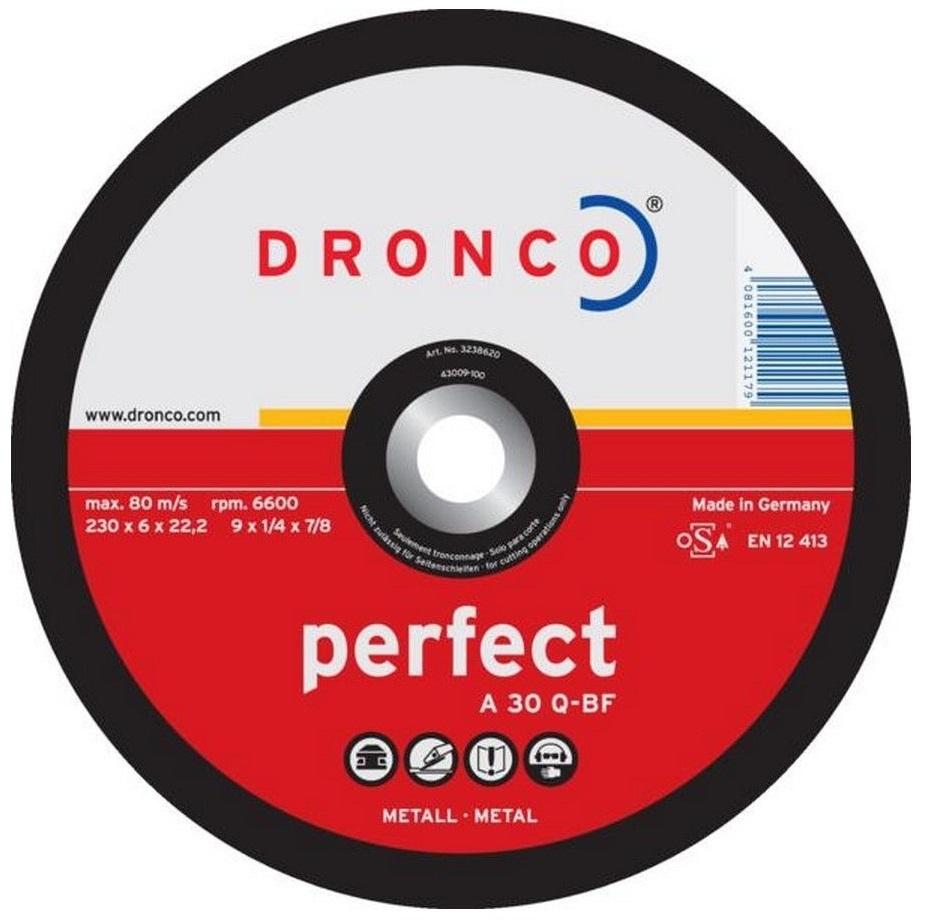 Tarcza OSBORN - PERFECT do szlifowania stali 230x6,0