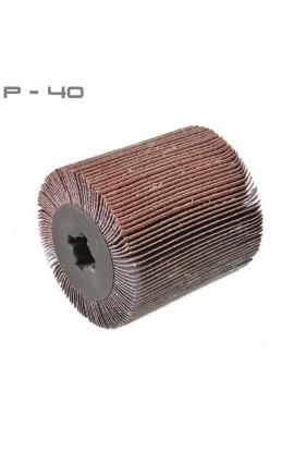 Walec z płótnem ściernym P40 Ø100x100 otwór 19,6 OSBORN nr. 0043010100