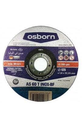 Tarcza do cięcia OSBORN Special AS 60 T Ø125X1,0 otwór 22,2 nr.1121240578