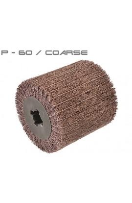 Walec z włókniny ściernej i płótna ściernego P60 Ø100x100 otwór 19,6 OSBORN nr. 0063410100