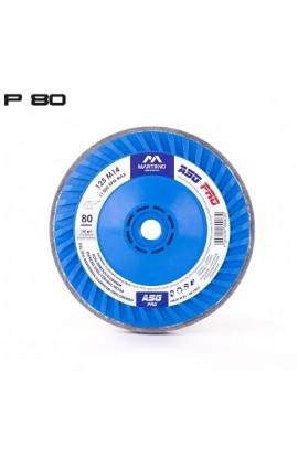Ściernica talerzowa ASG Pro MARTINNO  Ø 125 M14  gr. 80/medium nr. ASGPro125M1480