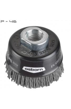 Szczotka doczołowa OSBORN Ø 60 tworzywo Novofil P-46 M14 nr.6912613891