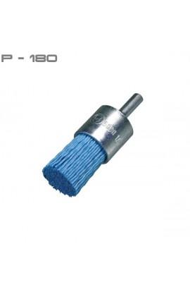 Szczotka pędzelkowa OSBORN Ø 25 tworzywo Gritiflex P-180 niebieski nr. 1812509913