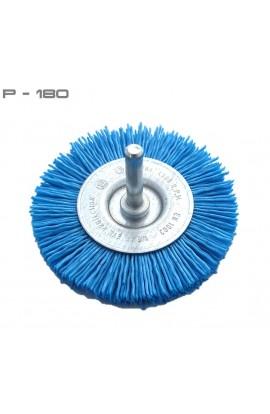 Szczotka tarczowa trzpieniowa OSBORN Ø 75 tworzywo Gritiflex P-180 niebieski nr.0182600491