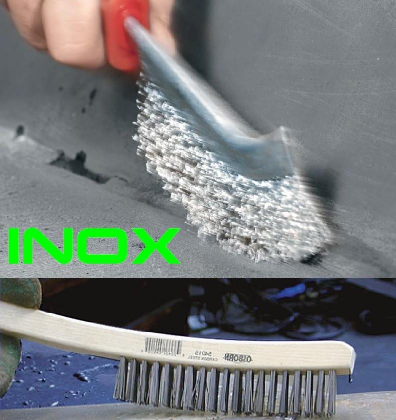 Szczotki ręczne INOX