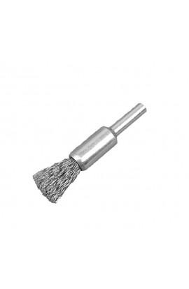 Szczotka pędzelkowa Ø 12 trzpień 6mm drut stalowy falisty 0.30 - nr.0008509161 OSBORN do czyszczenia rdzy, farby, nalotów, gratowania