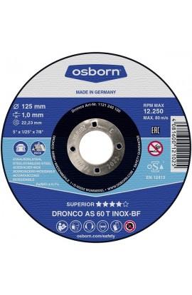 Tarcza do cięcia OSBORN Special AS 60 T Ø125X1,0 otwór 22,2 nr. 1121240578 ( 1121240000 )
