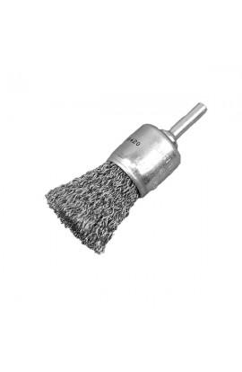 Szczotka pędzelkowa Ø 17 trzpień 6mm drut stalowy falisty 0.30 - nr.0008509162 OSBORN czyszczenie z rdzy, farby