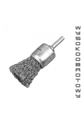 Szczotka pędzelkowa wysokoobrotowa trzpieniowa OSBORN Ø 17 drut stalowy falisty 0.30 - 18 000 obr/min - nr.0002509162