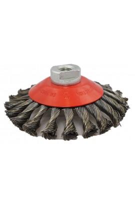 Szczotka stożkowa OSBORN Ø 125x15 z M14 drut stalowy splatany 0,5 - nr.3908632151