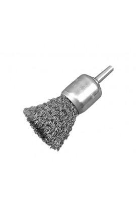Szczotka pędzelkowa Ø 25 trzpień 6mm drut stalowy falisty 0.30 - nr.0008509163 OSBORN do czyszczenia rdzy, farby, nalotów