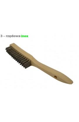 Szczotka ręczna drewniana OSBORN 3 - rzędowa nierdzewna nr. 0001151393