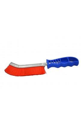 Szczotka ręczna plastikowa-niebieska OSBORN 1- rzędowa tworzywo nr.3008462891