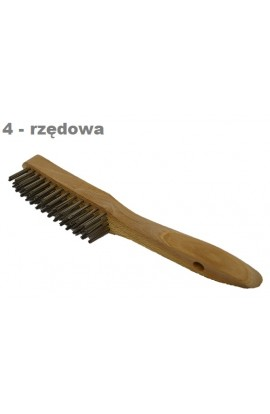 Szczotka ręczna drewniana OSBORN 4 - rzędowa nr.0001152134