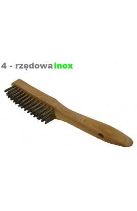 Szczotka ręczna drewniana OSBORN 4 - rzędowa nierdzewna nr. 0001151394