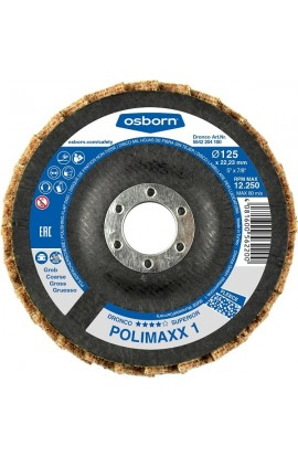 Tarcza lamelkowa POLIMAXX 1 OSBORN Ø 125x22,2 włóknina Coarse - nr.5542204100