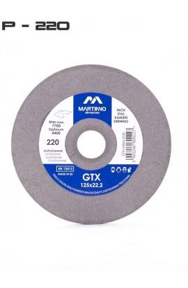 Ściernica płaska GTX MARTINNO  Ø 125x8x22,2 gr. 220/very fine nr. GTX125822,2220