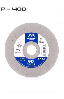 Ściernica płaska GTX MARTINNO  Ø 125x8x22,2 gr. 400/ultra fine nr. GTX125822,2400