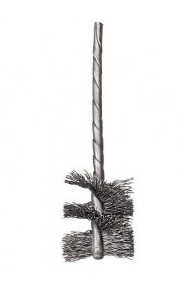 Szczotka Helituf OSBORN Ø 10x25x89 trzpień 3,4 mm, drut stalowy 0,13mm nr. 9907036022