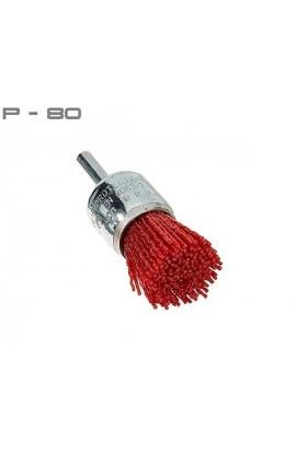 Szczotka pędzelkowa Ø 25 tworzywo Gritiflex P-80 czerwony nr. 0812509913 OSBORN