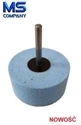 Krążek POLFLEX Clean 65x30 trzpień 6mm do usuwania naklejek, folii oraz kleju z etykiet CLN60406