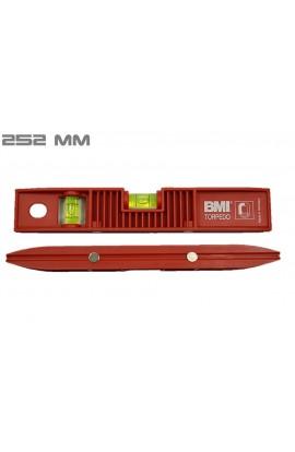 Poziomica BMI Torpedo 250x43x22 mm z magnesem 685025003M